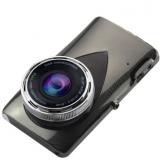 便携行车记录仪 新款车载前后双镜头4寸1080P大屏幕夜视停车监控