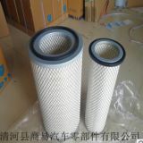 批发K2342空气滤芯豪沃T5G东风 厦门金龙 康明斯EQ153 空气滤清器