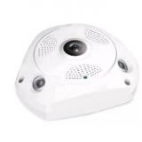 200万高清监控摄像机VR 360度全景监控摄像头远程智能网络摄像头