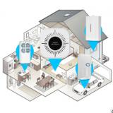 无线wifi网络防盗报警器 门窗防盗器 智能家居 红外线感应报警器