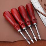 榉木柄皮革修边器削边器手工DIY皮具皮雕皮艺工具修圆工具现货