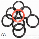 橡胶厂直销 多种规格密封橡胶圈 模压成型环保包覆圈制品o型圈