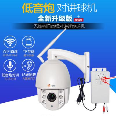 130万无线WIFI高清迷你球机 960P球形摄像机夜视60米 音频对讲