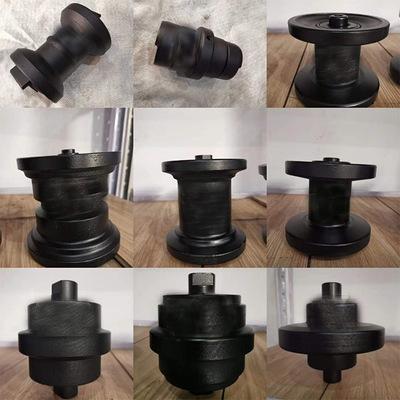 18微型底盘配套件 1吨2吨微型挖机底盘件 驱动齿 引导轮 支重轮