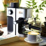 厂家直销蒸汽式商用咖啡机 现磨速溶自动打奶泡花式咖啡机