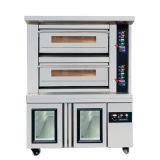 热销款 二层四盘新麦款电烤箱面包店设备披萨炉层式蒸汽烤箱