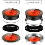 奥米康商用电陶炉大功率火锅电磁炉光波炉圆形嵌入式台式镶嵌烧烤