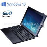工厂批发全新10英寸windows10四核Z8350电容IPS屏二合一平板电脑