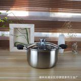 厂价直销加厚不锈钢汤锅特厚复合钢奶锅无磁单双柄电磁炉通用汤锅