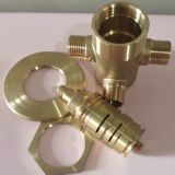 黄铜全铜恒温浴缸阀,暗装太阳能热水器通用,质量保证价格优惠