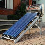 豪光一体承压太阳能热水器太阳能集热器出口加工,热水工程联箱!
