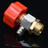 手动排气阀 地暖分水器专用2分手动排气阀 减压阀 放气泄压阀跑风