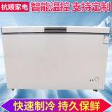 商用卧式冷冻冰柜 单温单顶开门冷柜 便利店超市冷柜 冰柜