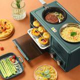 早餐机多功能四合一家用8升多士炉厂家一件代发早餐机银行礼品