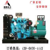 30kw50kw75kw柴油发电机组 潍柴全铜电机养殖工地应急 柴油发电机