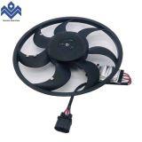 适用于奥迪Q7保时捷途锐散热器风扇电子扇7L0959455F 95562413400