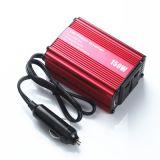 逆变器直销 150W12v转220v汽车电压转换器 车载逆变器USB2.1A快充