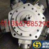 浓缩机可用配减速机用溶胶马达NHM2-100低噪音五星液压马达