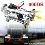 600DB 车喇叭电喇叭供应双管金属连体电泵喇叭带继电器 汽车喇叭