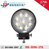 车用灯 越野车灯 汽车改装 27W 圆形LED工作灯 汽车射灯