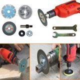 三菱柄电钻配件 手电钻变角磨机连接杆转换器转角磨机连接杆