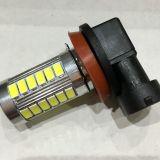 新款H4 H8 H11 9005 9006 33灯LED汽车前雾灯 防雾灯 汽车LED灯
