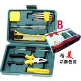 车载维修工具包 汽车应急组合套装组合工具箱五金工具11件套 厂家