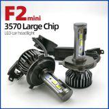 小F2led汽车前大灯35MM风扇外贸热销新款3570CSP灯珠光源H4H79005