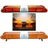 LED黄色工程车爆闪警示顶灯清障救援平板拖长排养护施工抢修1.2米