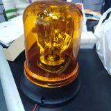 琥珀色频闪警示灯 35W车顶应急灯 批发螺杆可旋转警示灯