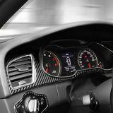 适用于奥迪A4L A5 S5碳纤维仪表台大框装饰贴导航框面板专用改装